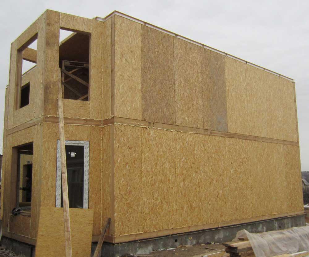 Строительство домов из бруса и по каркасной технологии