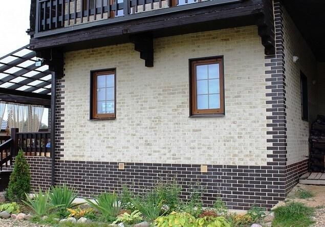 Фото внешней отделки дома из СИП-панелей